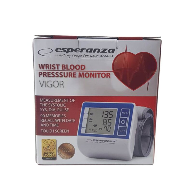 Esperanza wrist blood presure monitor