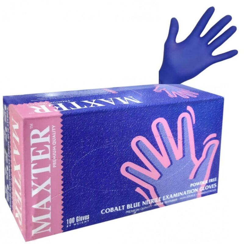 Rękawiczki nitrylowe Maxter (100 sztuk)