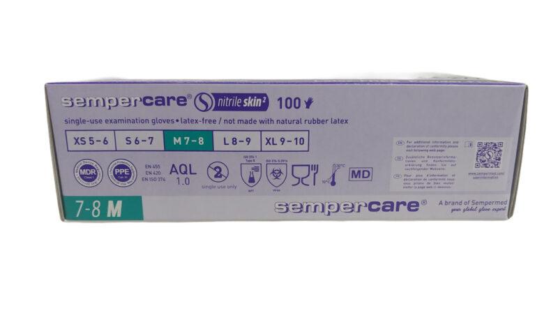 rekawiczki nitrylowe-diagnostyczne semper 100 sztuk (1)