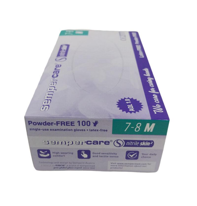 rekawiczki nitrylowe diagnostyczne semper 100 sztuk (2)
