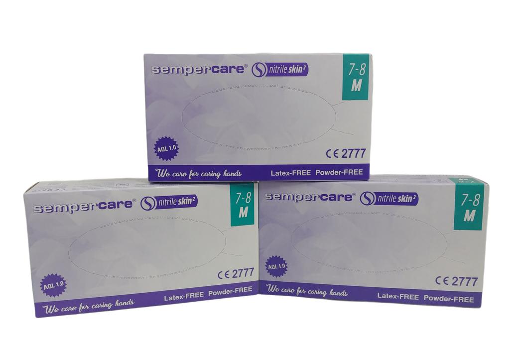 rekawiczki nitrylowe diagnostyczne semper 100 sztuk (3)